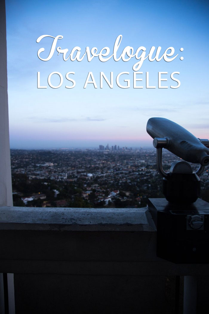 Travelogue Los Angeles