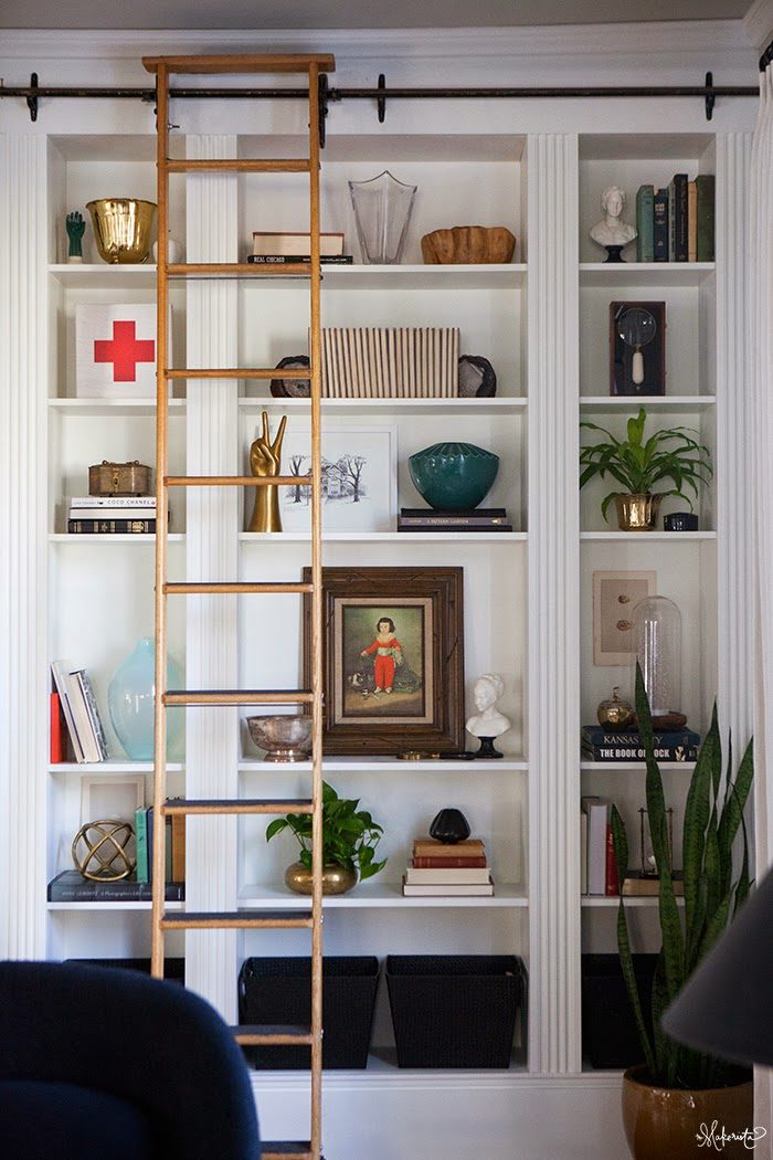Via The Makerista (Hither & Thither: Built-In Ikea Hacks)
