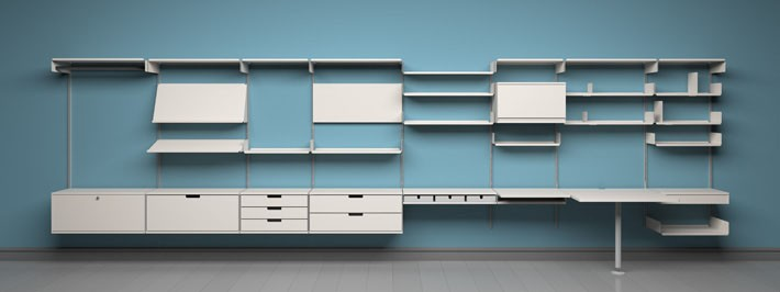 dieter rams 39 606 universal shelving hither thither. Black Bedroom Furniture Sets. Home Design Ideas