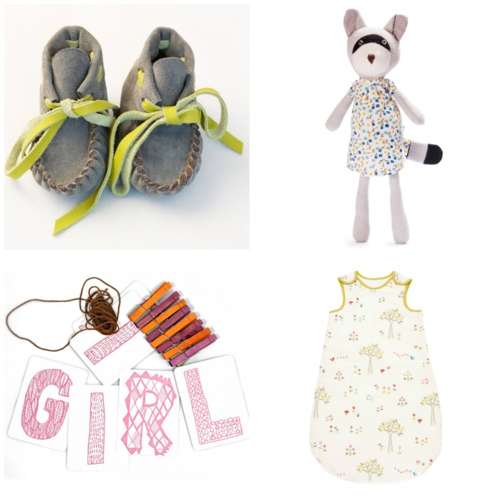 Gifts for baby girls from BRIKA and Little Auggie
