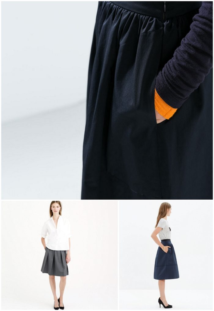 Skirts with Pockets-001