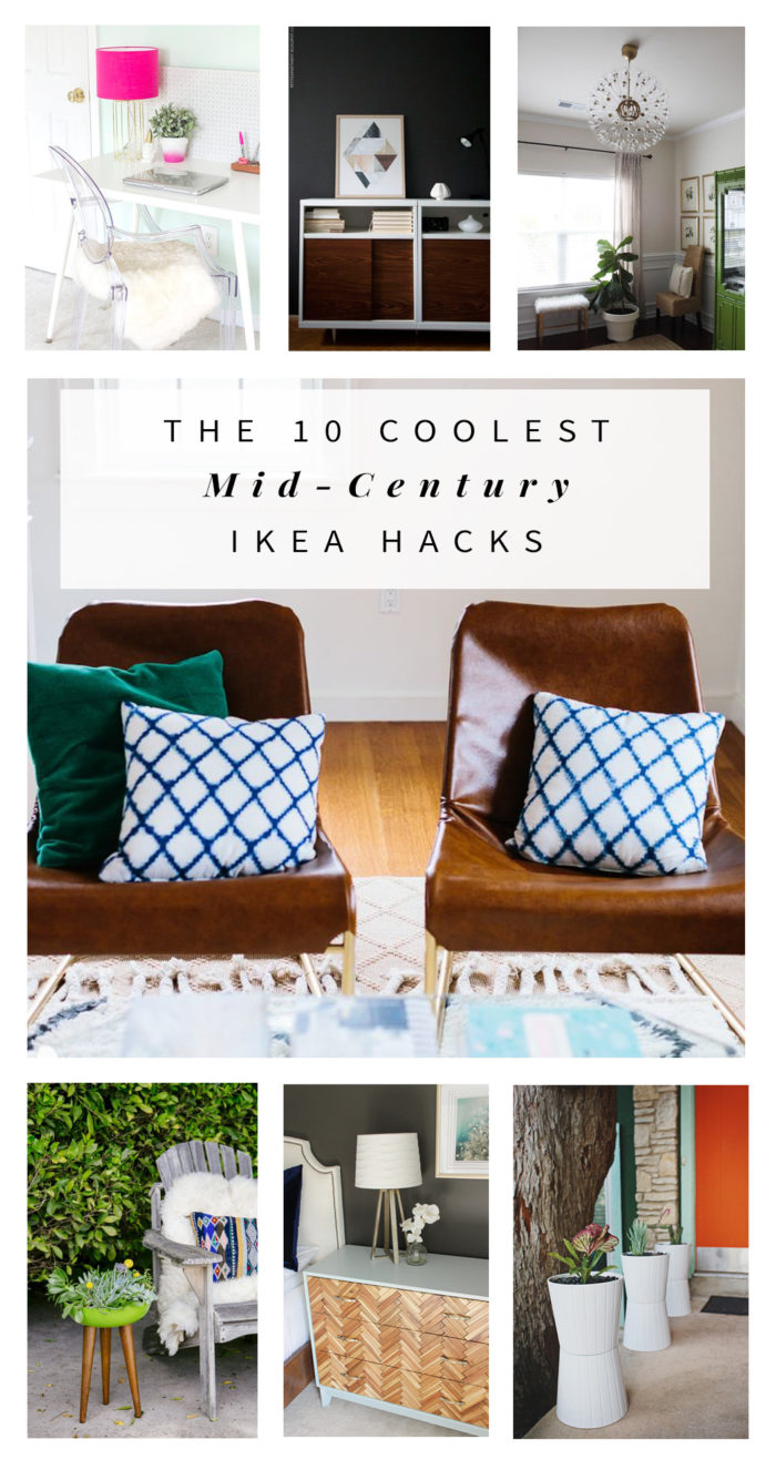 The 10 Coolest Mid Century Ikea Hacks Hither Thither
