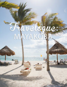 Travelogue, Mayakoba, trip, mexico, cancun